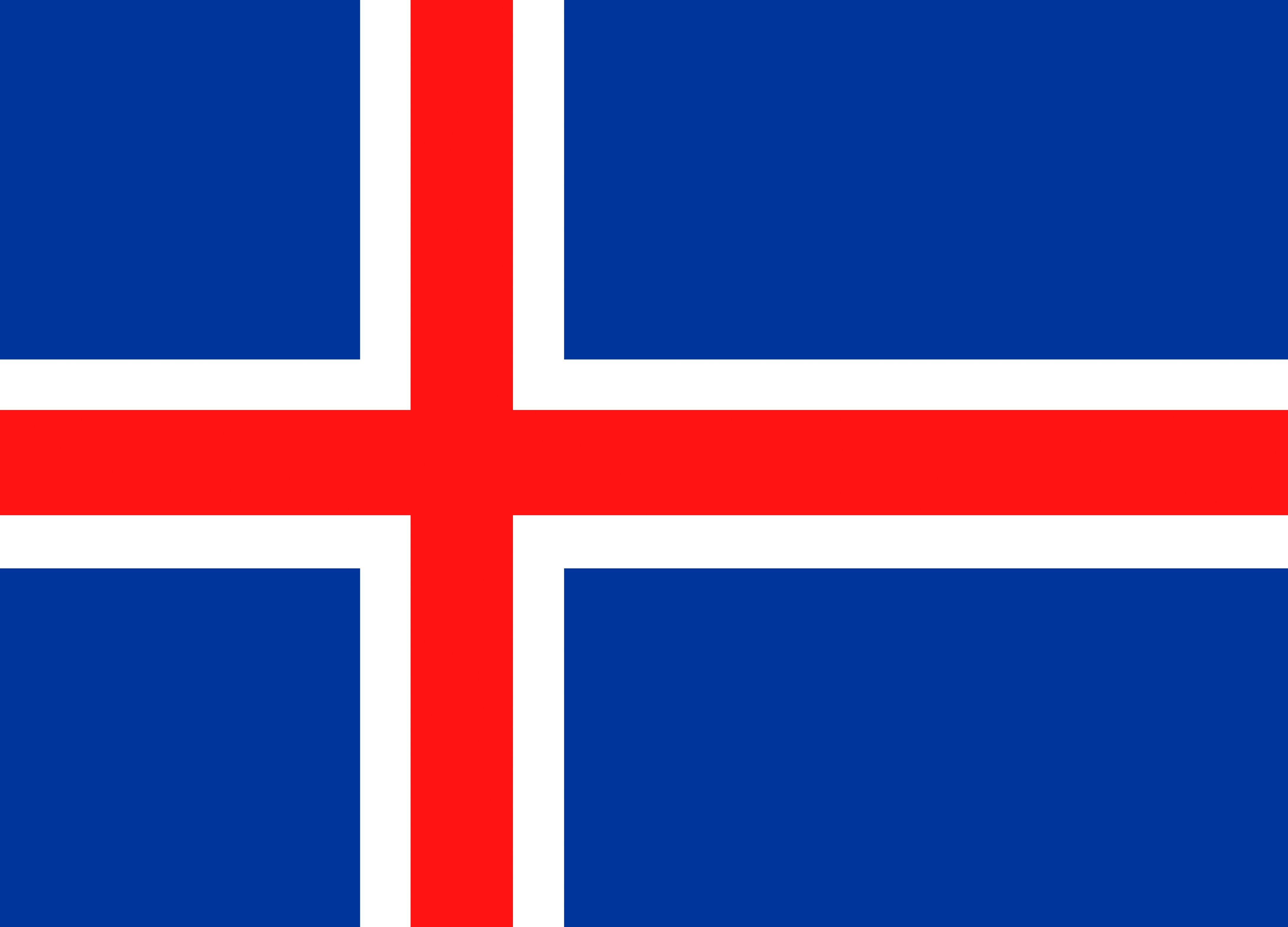 Risultato immagine per bandiera islanda